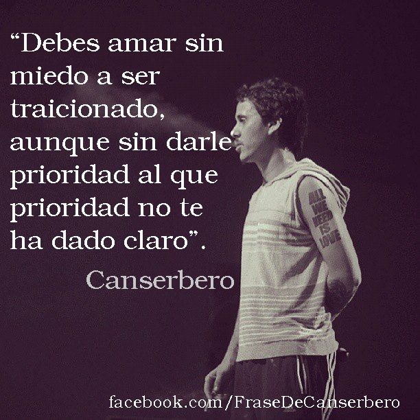Canserbero Frases Buscar Con Google Love Of My Live Rap