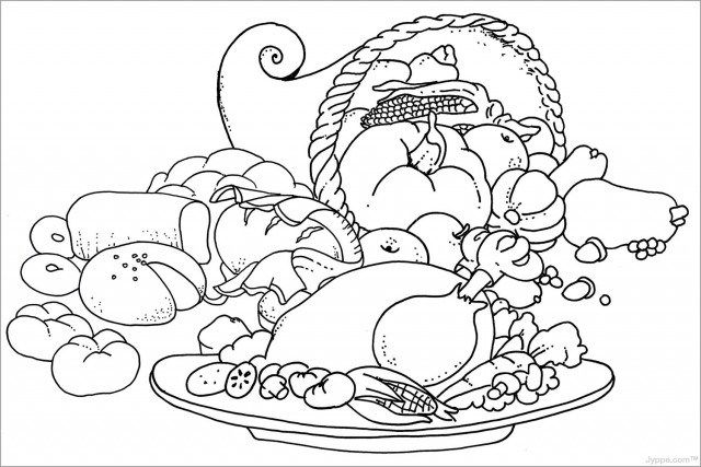 5b0bbf3f102cbff464e0a994b438e27d » Coloring Sheets Thanksgiving Food