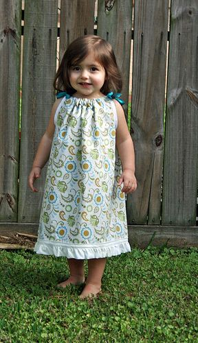 35eb9dbd47 Great pillowcase dress tutorial with useful links to YouTube videos and  pattern sources.