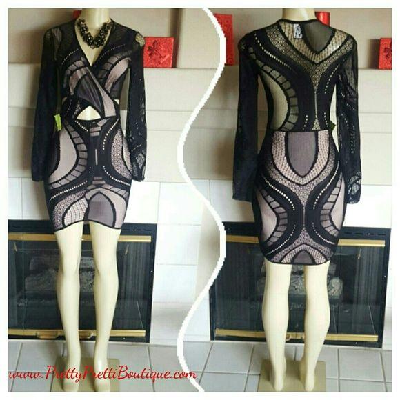 1Day Sale Peak A Boo Extra Espresso Midi Dress Cotton Spandex Blend Accessories Are Available Dresses Midi