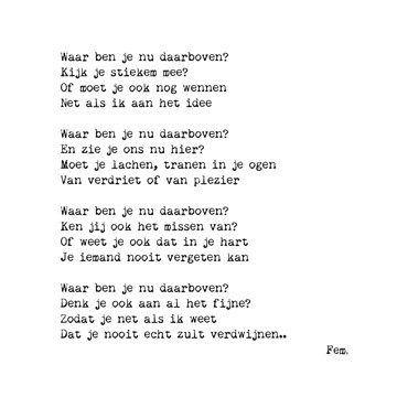 Sterkte Gedicht Na Overlijden Begrafenis Gedichten Moeder