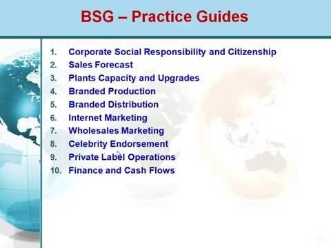Bsg Online   Business Strategy Game  Winning Tips Guides