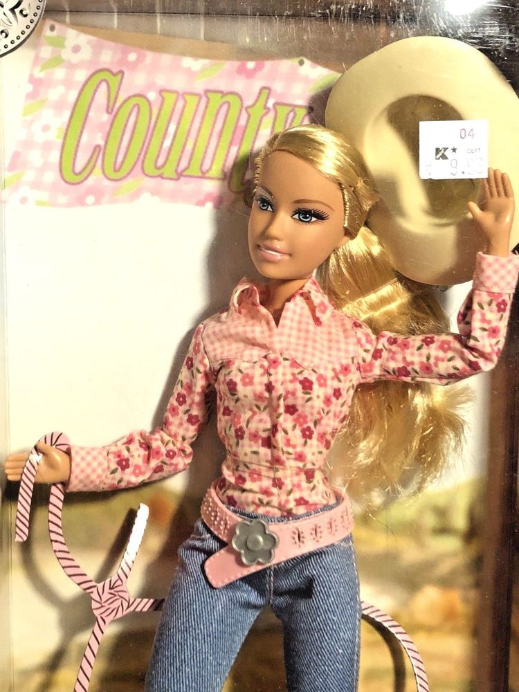 Country Girl Far West Cow Girl Chica Vaquera Barbie