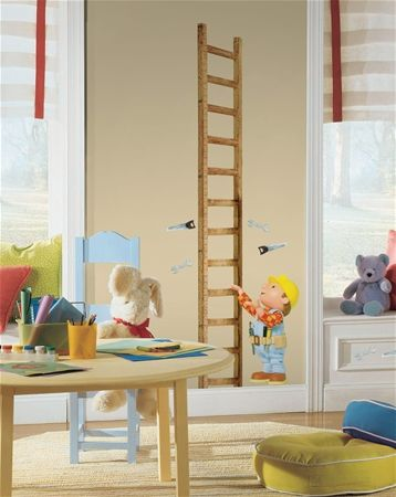 Bob The Builder Growth Chart For Our Construction Themed Boysu0027 Room! Kids Wall  DecalsNursery ... Part 81