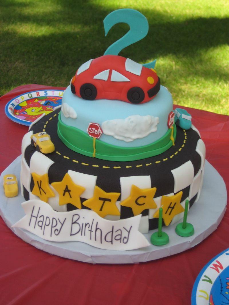Katch S 2nd Birthday Cake Tortas Para Hombres Tortas Infantiles