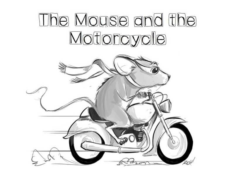 Printable Worksheets the mouse and the motorcycle worksheets : Printable Motorcycle Coloring Pages for Preschoolers http ...