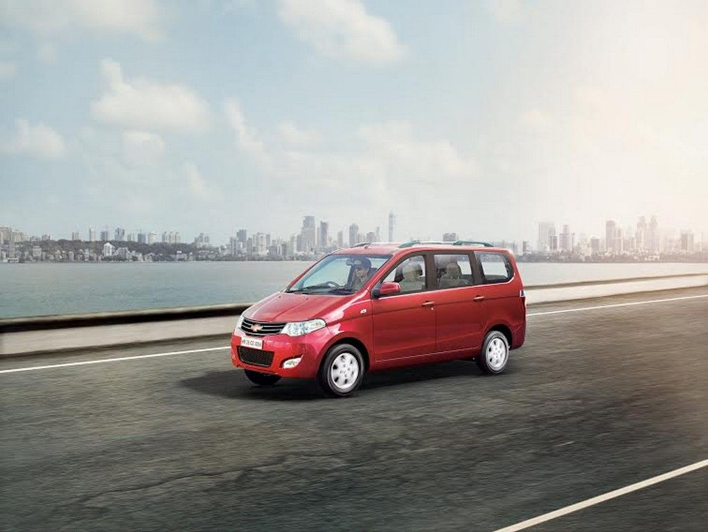 Chevrolet Enjoy Mpv Facelift Launched Priced At Rs 6 24 Lakhs