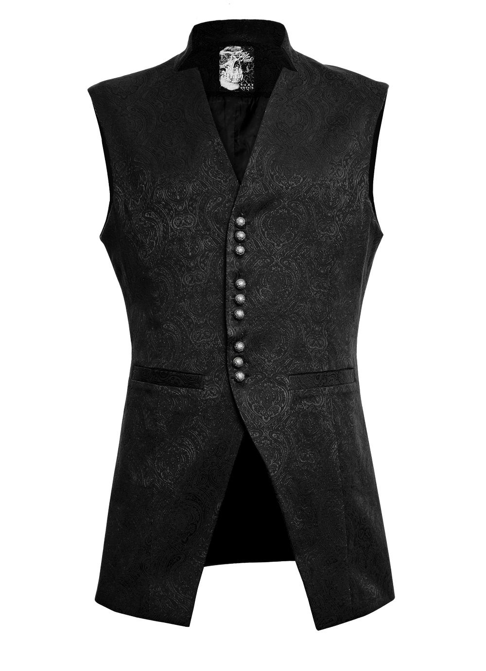 photo n°6   Gilet gothique victorien homme PUNK RAVE 39b0454855b