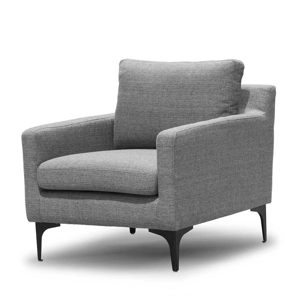 Hugo Armchair - Steel  Show Me Everything  CHAIRS - Me and My