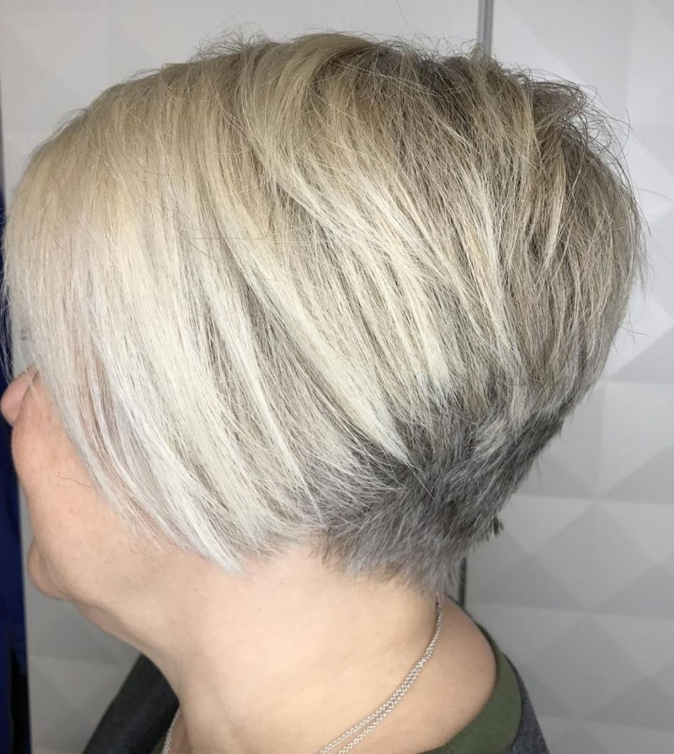 20 Top Short Hairstyles for Women with Round Faces over 50