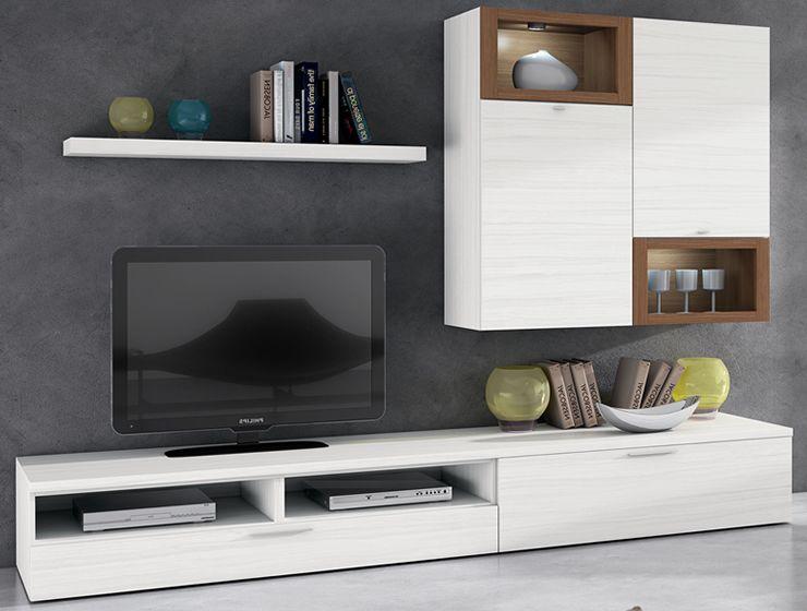 Salones modernos20 sala tv muebles muebles salon y - Muebles de salon modernos ikea ...