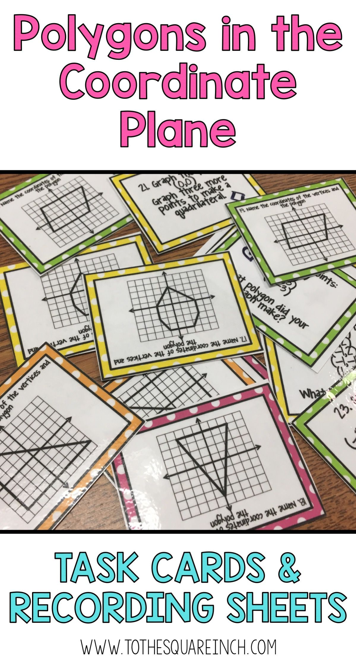 Graphing Polygons On A Coordinate Plane Common Core