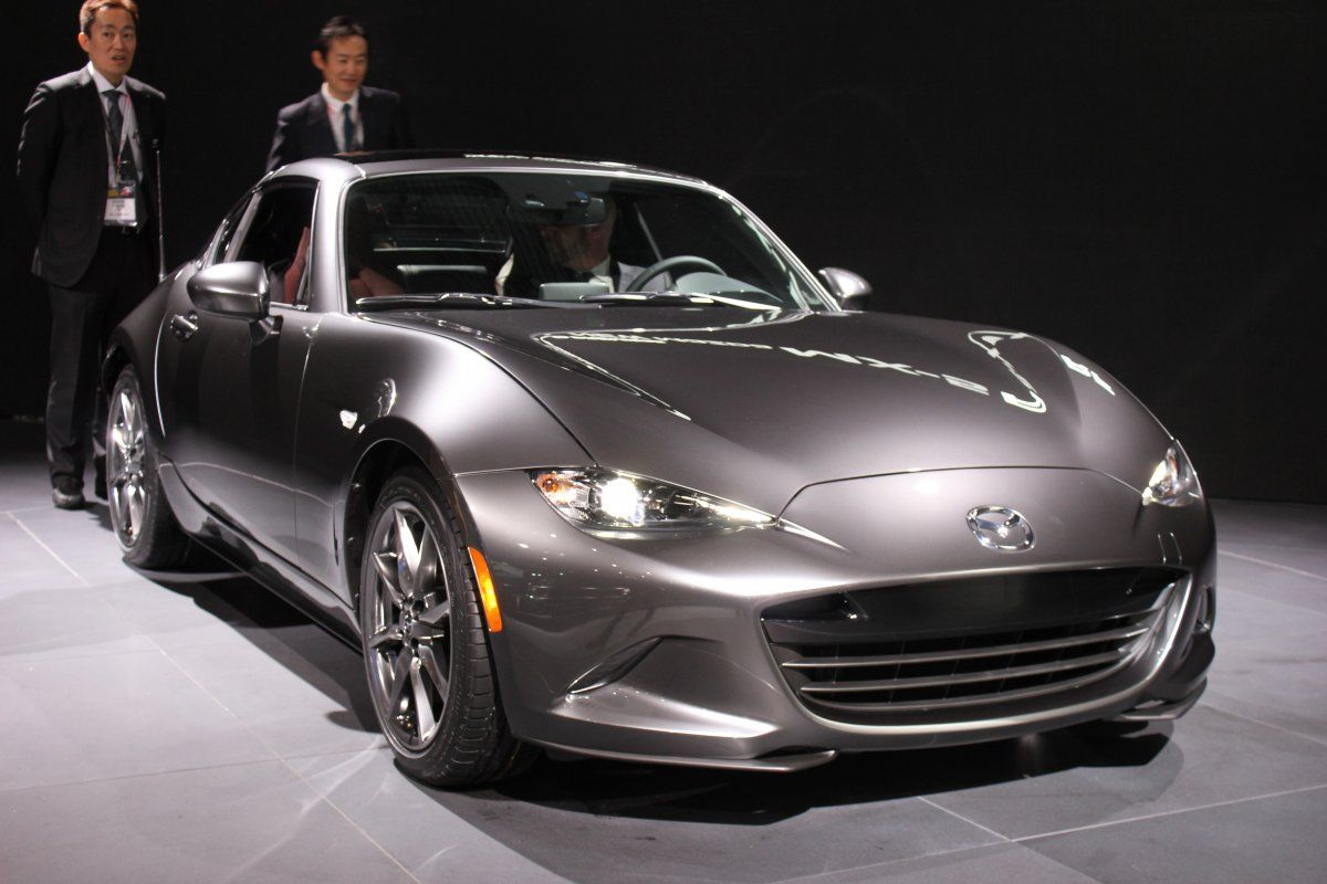 Big Beautiful Photos Of Mazdas Newest Open Top Sports Car