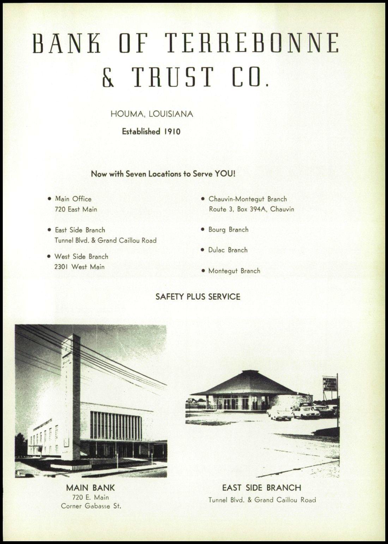 Advertising form the 1967 ths trawler terrebonne houma