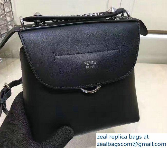 6b939eba27e6 Fendi Back To School Mini Backpack Bag Black 2017