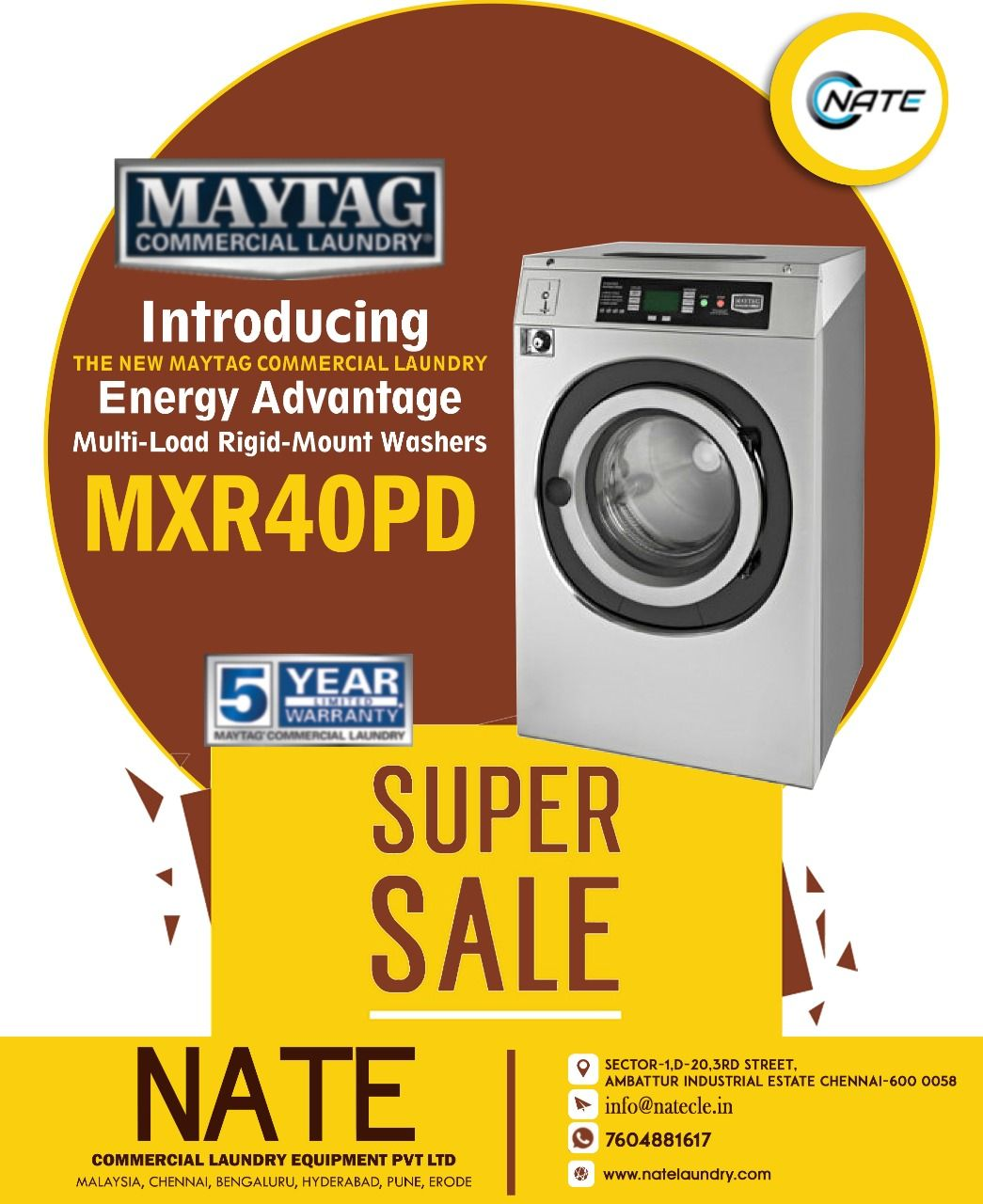 Shop Imported Maytag 15kg Washer For Sale Maytag Usa Commercial Laundry 10 Off 5 Year Warranty Get Ou Commercial Laundry Laundry Equipment Maytag