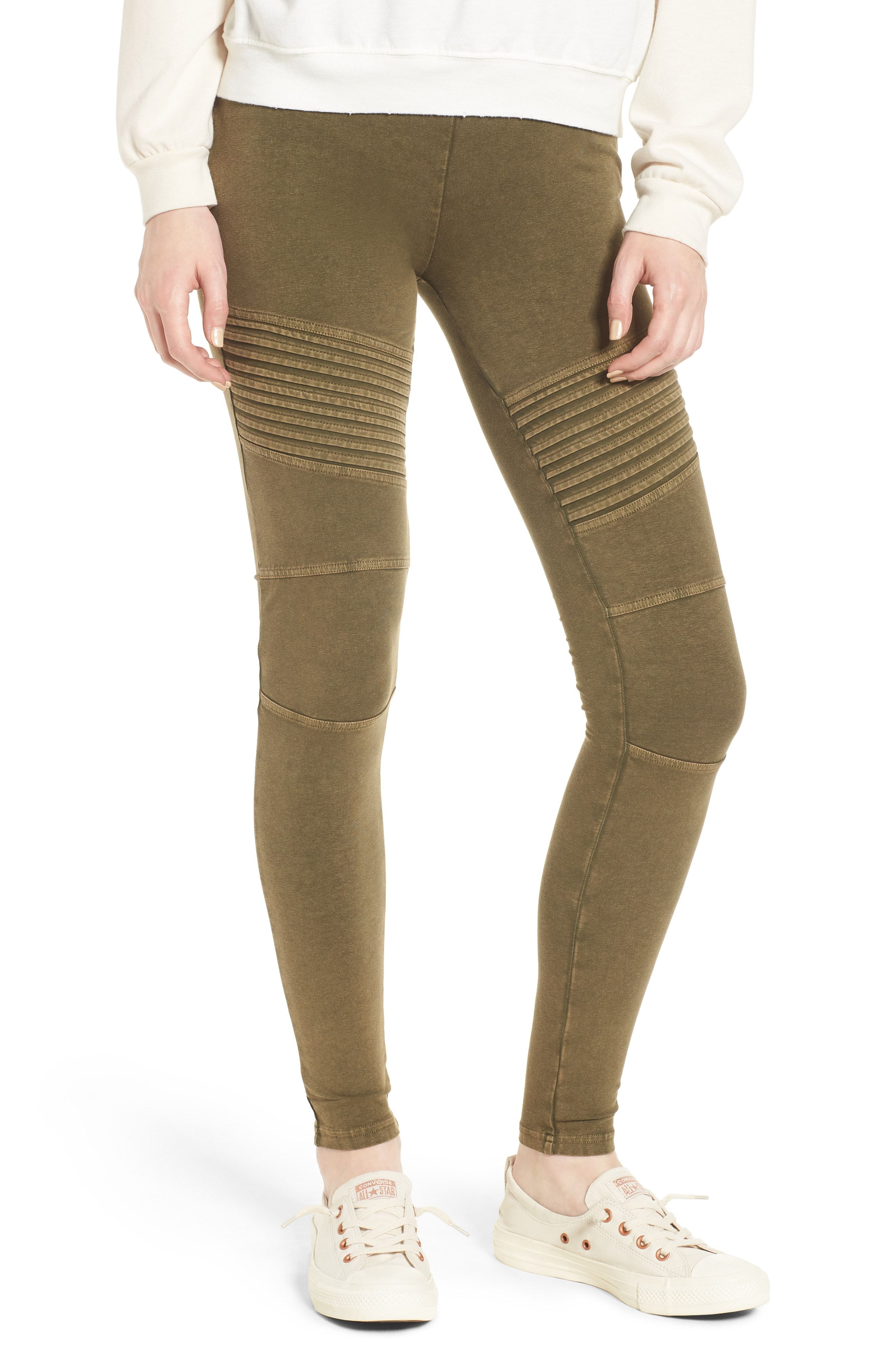 c73fcfe7ba5c BP. Washed Moto Leggings available at  Nordstrom