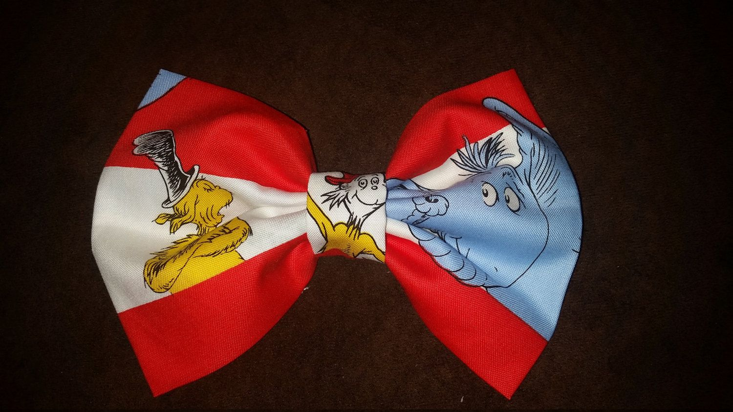 Dr. Suess Hair Bows by lilbeautysbowtique on Etsy