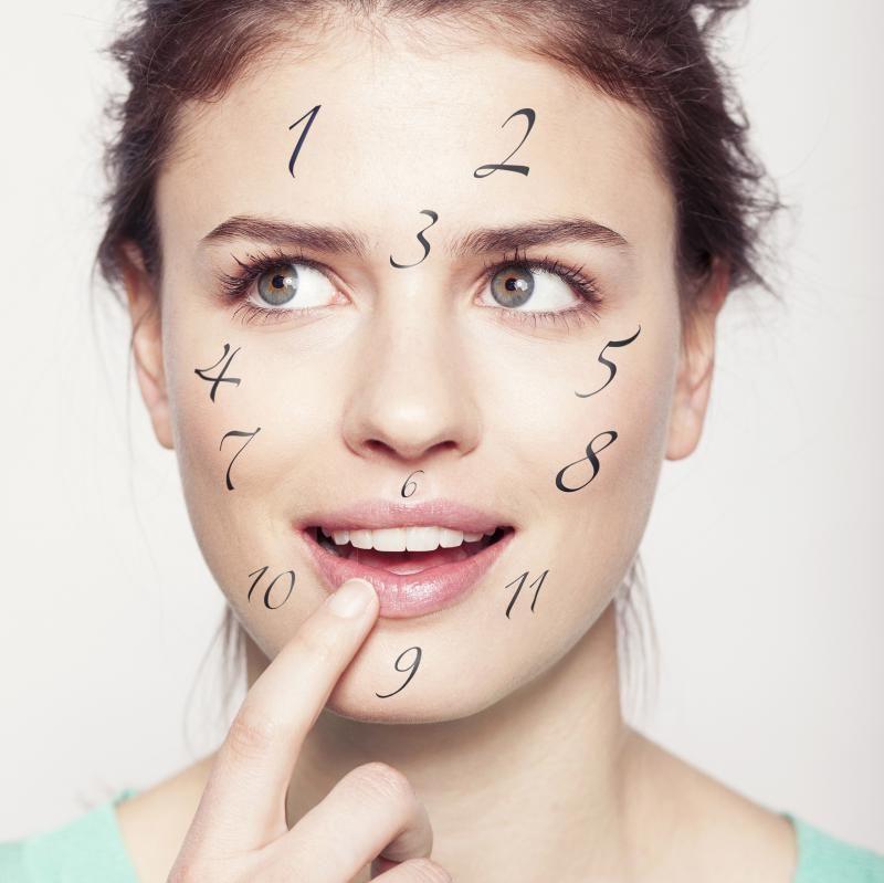 Wist je dat de plaats van acne iets vertelt over je gezondheid? Bekijk je puistjes eens goed en pak ze aan bij hun oorzaak!