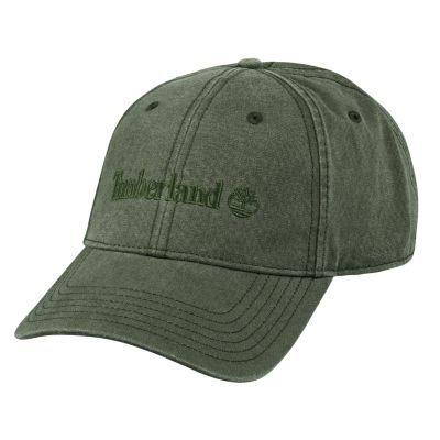 Timberland Classic Logo Baseball Cap (Military Olive)