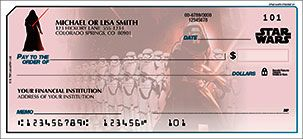 Star Wars: The Force Awakens personal checks.