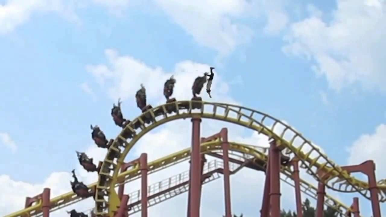 Scary Roller Coaster Accident! (+playlist) | neat ...