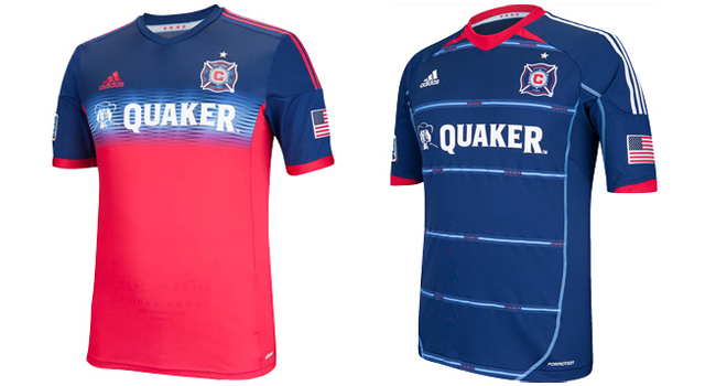 Camisa do Chicago Fire 2014 Adidas | Soccer Jerseys