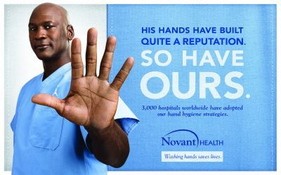 Michael Jordan Lends A Hand To Lower Infection Rates
