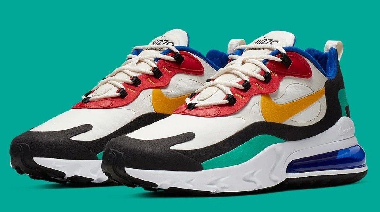 "Nike Air Max 270 React ""Bauhaus"" | Sneaker Mu$eum in 2019"