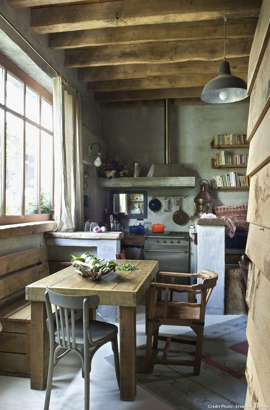 Nos 20 plus belles idées de cuisines   Cuisine rustique, Maison et Intérieur de cuisine