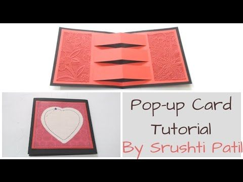 How To Make Waterfall Card Tutorial By Srushti Patil