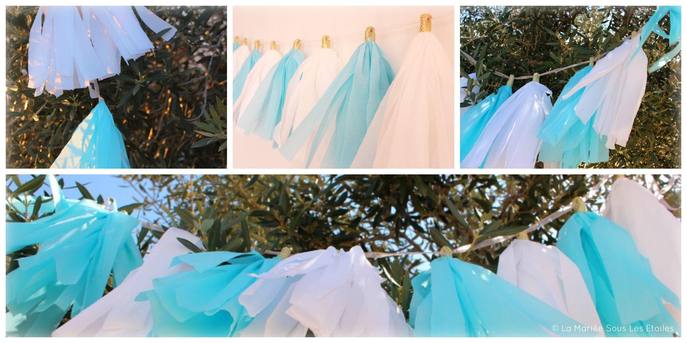 {DIY} Réaliser une guirlande de tassels | Etape 4| Tuto Décoration Mariage | La Mariée Sous Les Etoiles