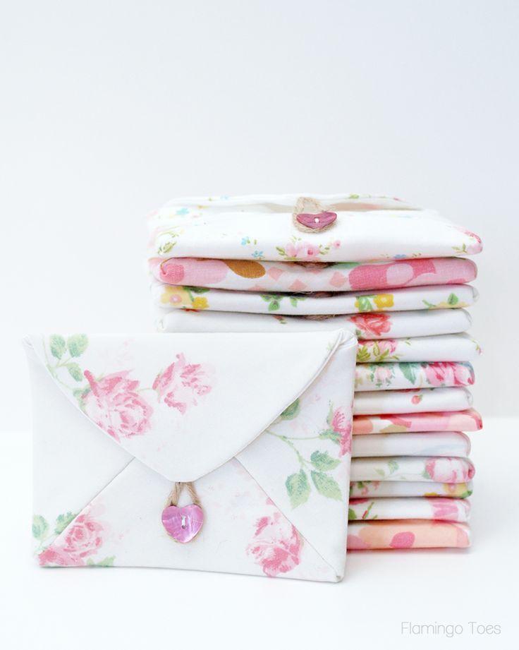 Floral Fabric Envelopes | Maker Crate