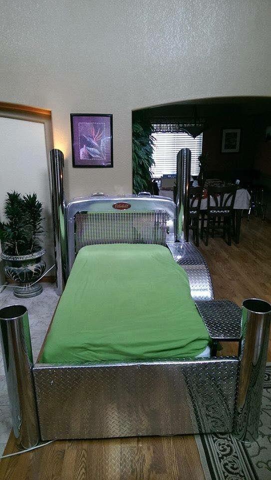 Chrome Peterbilt Bed Braxten Truck Room Kid Beds