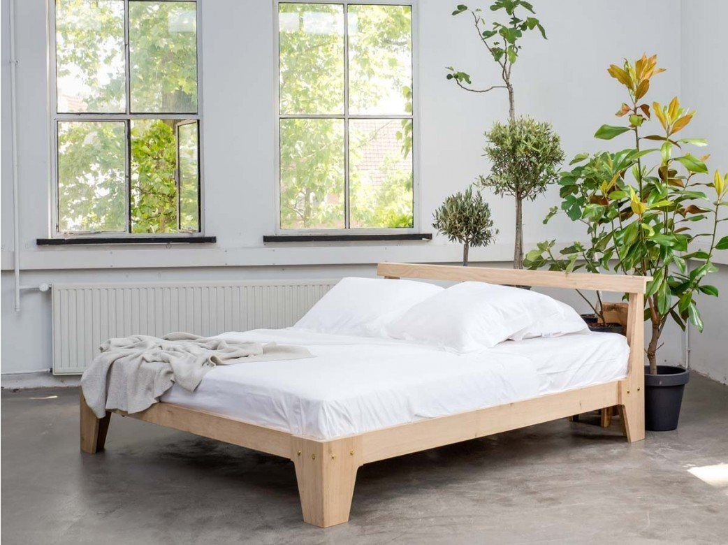 yumeko houten bed designed by piet hein eek yumeko eco products