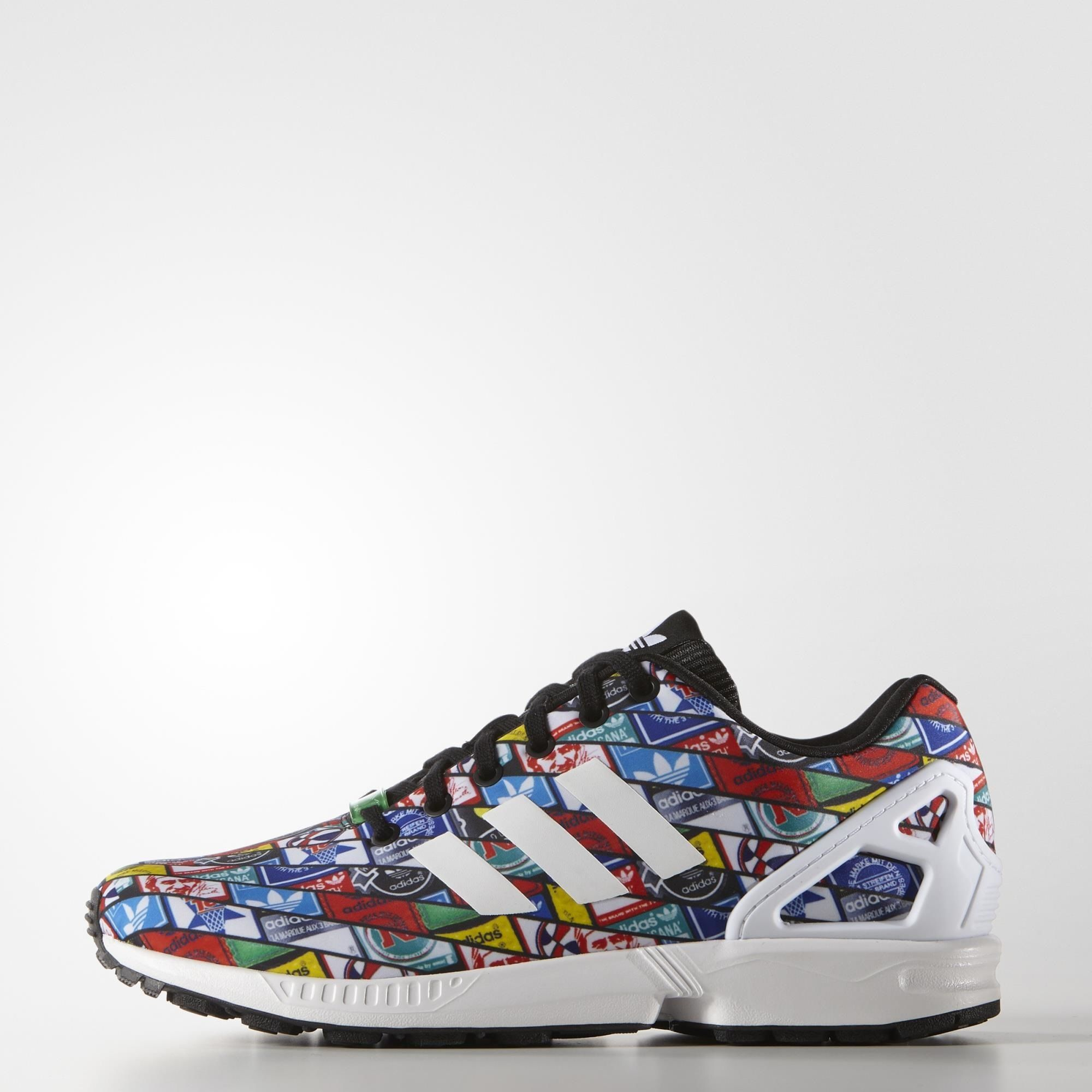 adidas ZX Flux Shoes White | adidas US | Adidas zx flux