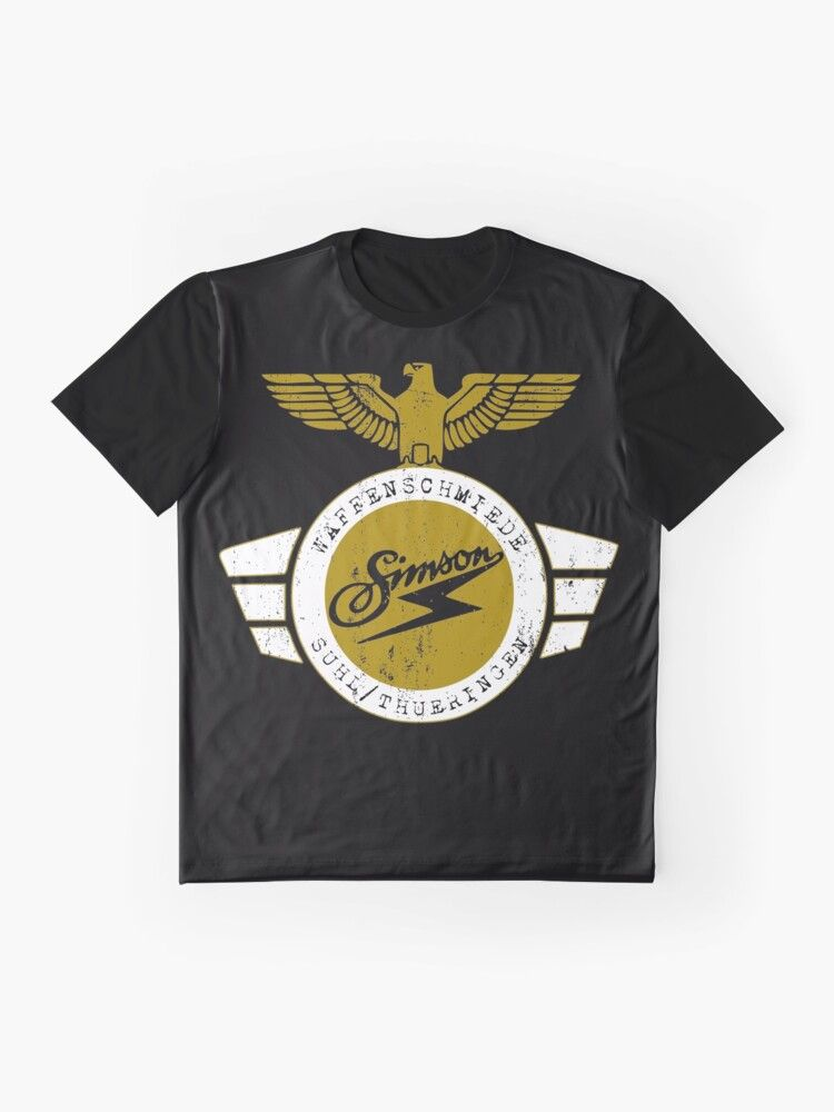 Simson altes Waffenschmiede Logo Suhl KR51, S51, Star, Spatz, DDR, Suhl, VEB, IFA, Tuning T-Shirt #oldtshirtsandsuch