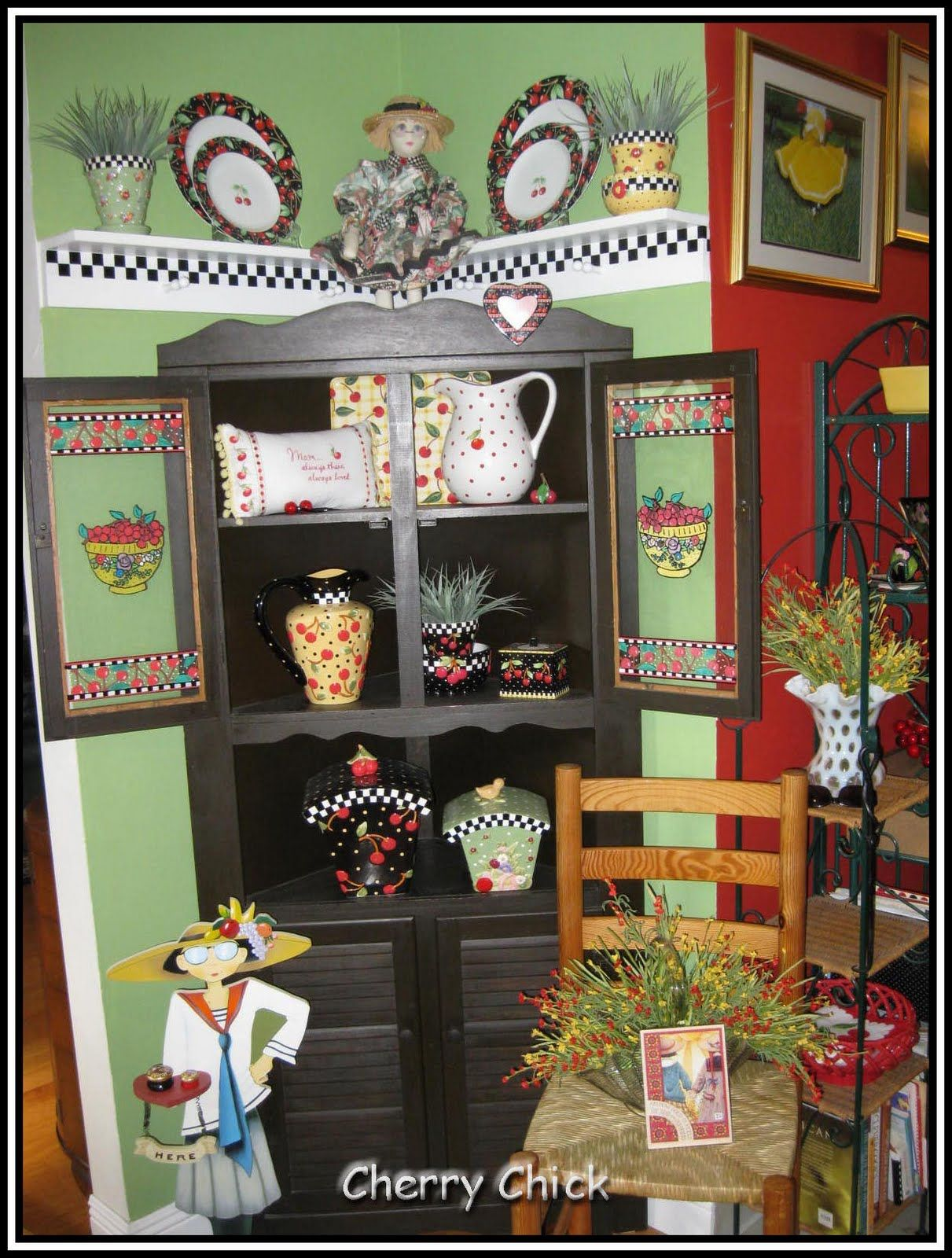 Muebles Mary Cherry Chick Christina 39s Mary Engelbreit Kitchen
