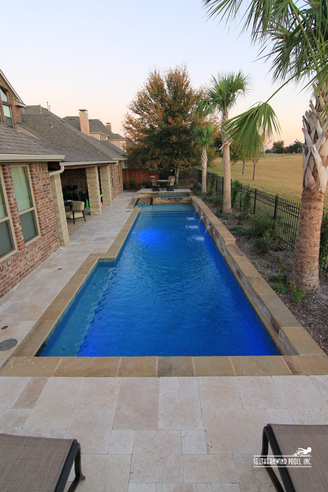 Our Pools Classic Formal Pools Gallery Small Backyard Garden Design Small Backyard Gardens Small Backyard Pools