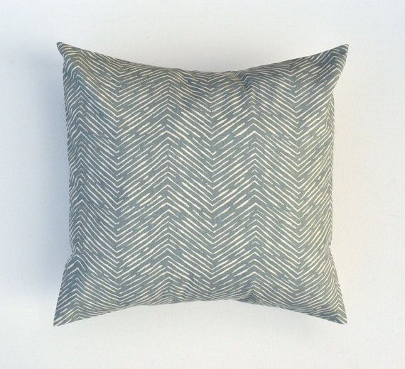 e BEAUTIFUL Pillow COVER in Cameron Pewter Grey Natural