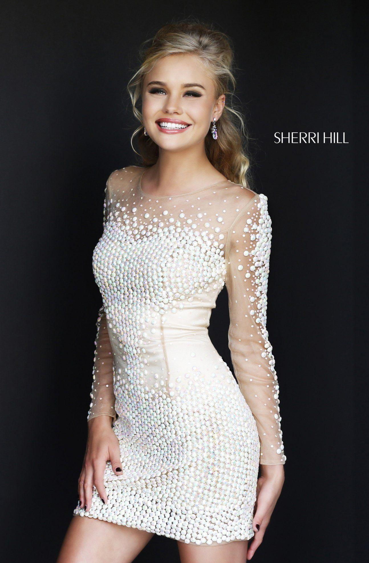 1c0c84387395c4f Вечернее платье SHERRI HILL с длинным рукавом ― Мы подарим | SHERRI ...