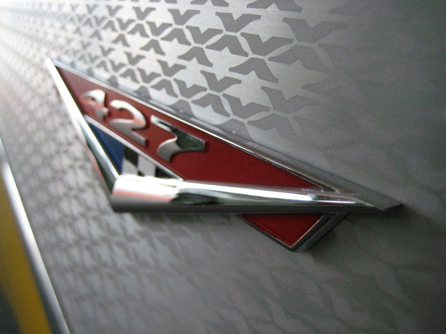 427 emblem from the 2006 Chevrolet Project-X Belair #chevrolet #usedcarvalues #webuyanycar
