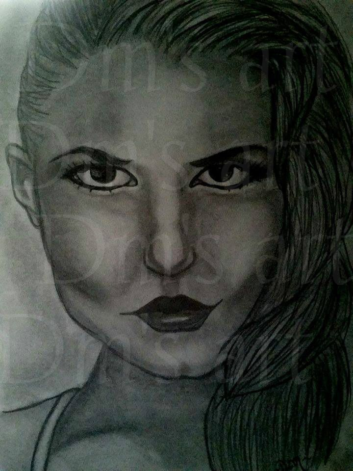 emma swan by dm s art on fb or xoxo please give credit