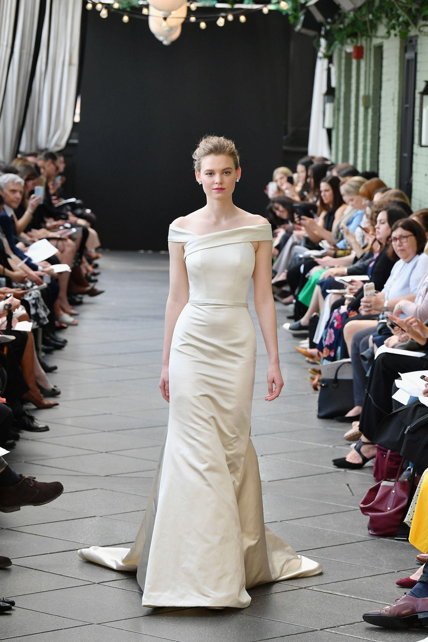 Amsale spring wedding dress collection weddings pinterest