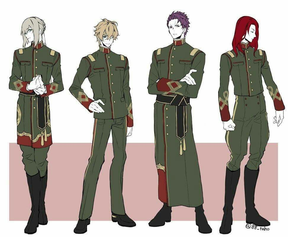 Fate grand order anime outfits fate anime series