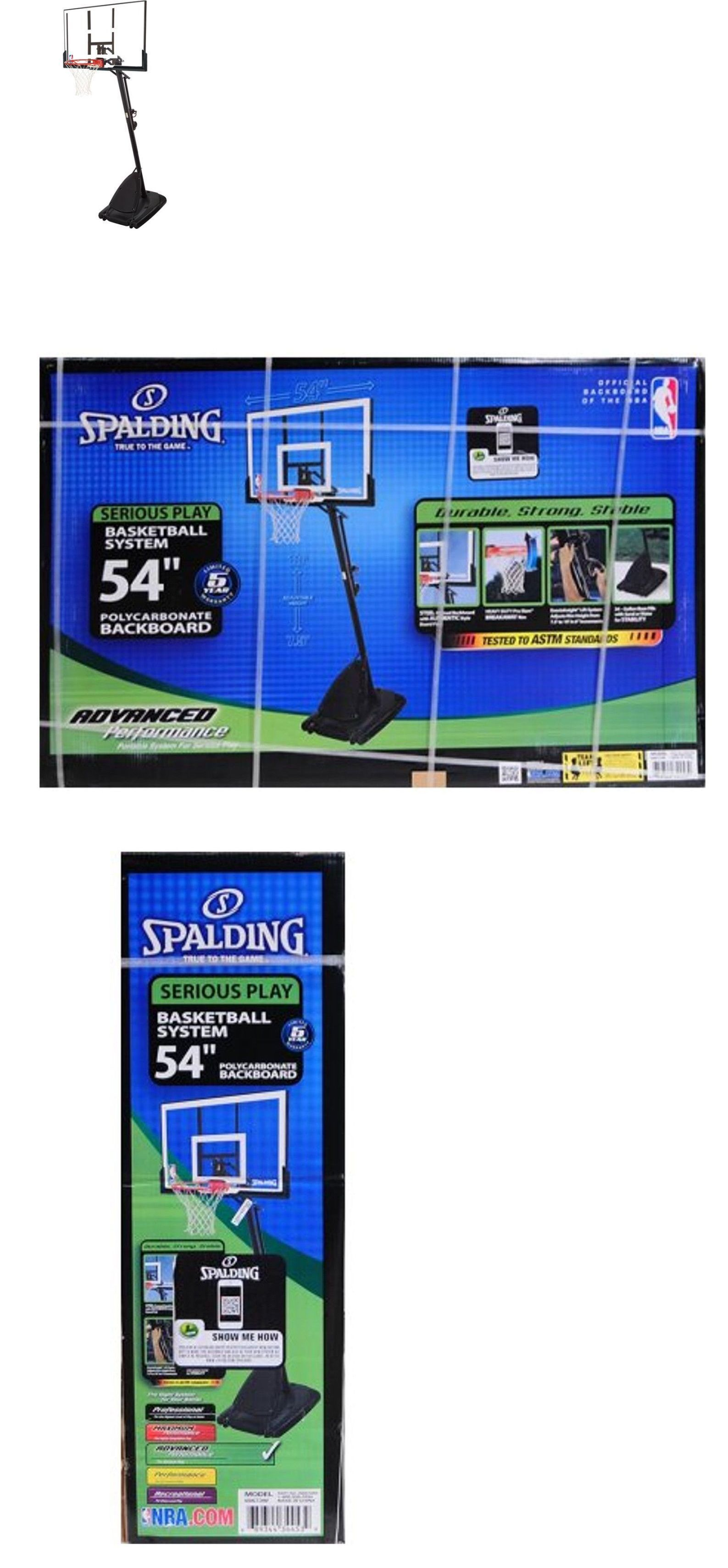 backboard systems 21196 spalding 44 inch portable basketball system