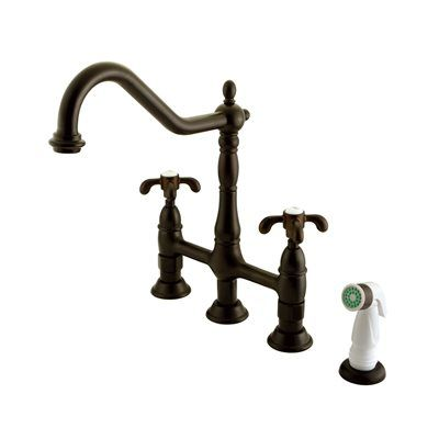 Elements of Design ES127 French Country Centerset Kitchen Faucet