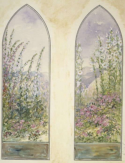 Designs For Mccormick Windows Louis Comfort Tiffany American New York 1848 1933 New York Maker Tiffany Studios 1902 32 Date 1922 With Images