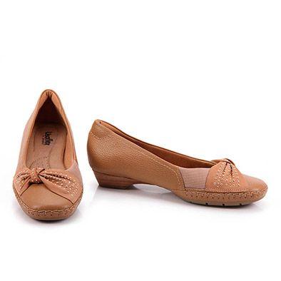 331a37b0a2 Sapato Scarpin Feminino Usaflex - Camel - Passarela.com