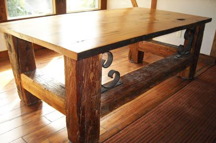 Rustic office desk idea House Ideas Pinterest